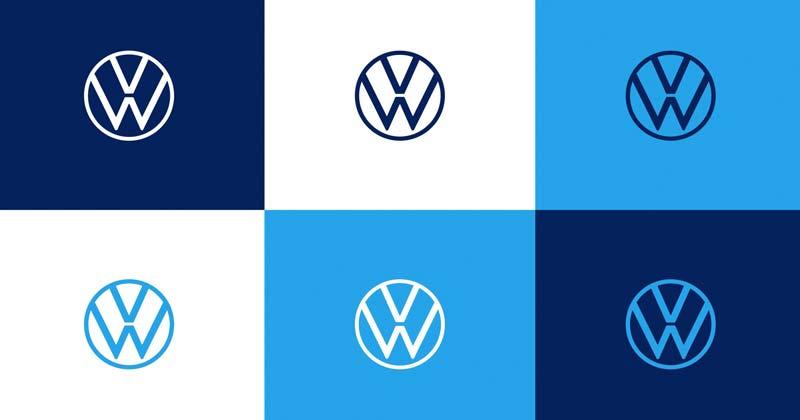 vw nuevo logo